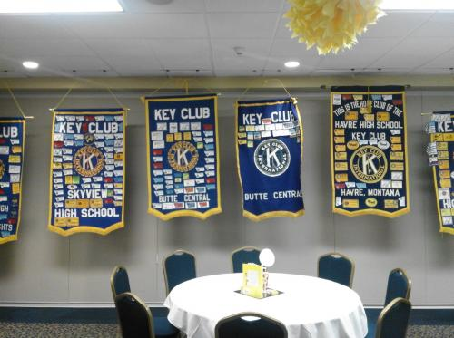 Key Club Banners