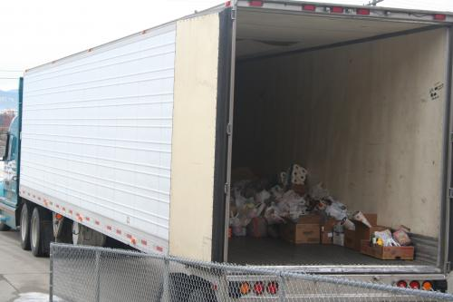 A Truck of Donations