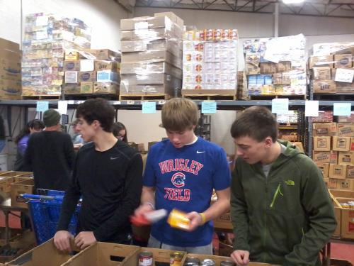 Sorting and Organizing Food Donations