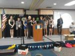 Installing the Key Club District Board